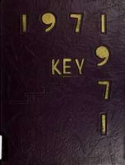 1971 Edition, Angola High School - Key Yearbook (Angola, IN)