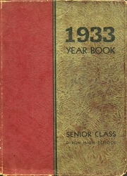 1933 Edition, Dixon High School - Dixonian Yearbook (Dixon, IL)
