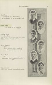 Page 11, 1915 Edition, West High School - Occident Yearbook (Columbus, OH) online yearbook collection