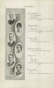 Page 14, 1915 Edition, West High School - Occident Yearbook (Columbus, OH) online yearbook collection