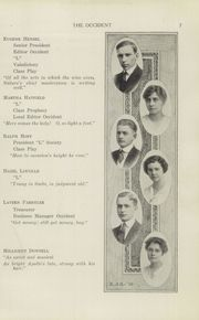 Page 9, 1915 Edition, West High School - Occident Yearbook (Columbus, OH) online yearbook collection