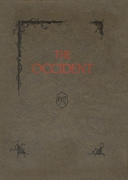 Page 1, 1927 Edition, West High School - Occident Yearbook (Columbus, OH) online yearbook collection