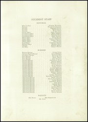 Page 13, 1927 Edition, West High School - Occident Yearbook (Columbus, OH) online yearbook collection
