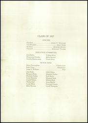 Page 14, 1927 Edition, West High School - Occident Yearbook (Columbus, OH) online yearbook collection