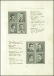 Page 17, 1927 Edition, West High School - Occident Yearbook (Columbus, OH) online yearbook collection