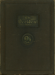 Page 1, 1929 Edition, West High School - Occident Yearbook (Columbus, OH) online yearbook collection