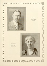Page 11, 1931 Edition, West High School - Occident Yearbook (Columbus, OH) online yearbook collection