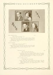 Page 16, 1931 Edition, West High School - Occident Yearbook (Columbus, OH) online yearbook collection