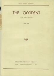 Page 5, 1936 Edition, West High School - Occident Yearbook (Columbus, OH) online yearbook collection