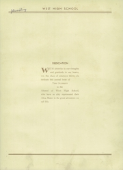 Page 7, 1936 Edition, West High School - Occident Yearbook (Columbus, OH) online yearbook collection