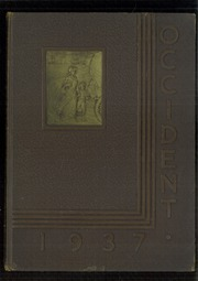 1937 Edition, West High School - Occident Yearbook (Columbus, OH)
