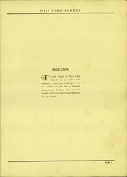 Page 7, 1937 Edition, West High School - Occident Yearbook (Columbus, OH) online yearbook collection