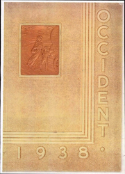 1938 Edition, West High School - Occident Yearbook (Columbus, OH)