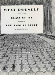 Page 11, 1941 Edition, West High School - Occident Yearbook (Columbus, OH) online yearbook collection