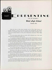 Page 9, 1941 Edition, West High School - Occident Yearbook (Columbus, OH) online yearbook collection