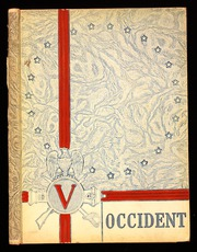 1943 Edition, West High School - Occident Yearbook (Columbus, OH)