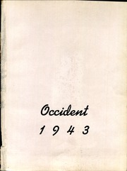 Page 5, 1943 Edition, West High School - Occident Yearbook (Columbus, OH) online yearbook collection