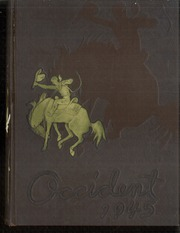 1945 Edition, West High School - Occident Yearbook (Columbus, OH)