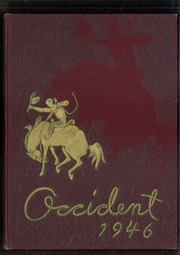 1946 Edition, West High School - Occident Yearbook (Columbus, OH)