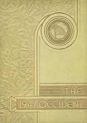 1947 Edition, West High School - Occident Yearbook (Columbus, OH)