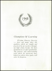 Page 11, 1948 Edition, West High School - Occident Yearbook (Columbus, OH) online yearbook collection