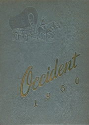 1950 Edition, West High School - Occident Yearbook (Columbus, OH)
