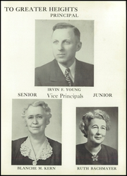 Page 13, 1950 Edition, West High School - Occident Yearbook (Columbus, OH) online yearbook collection