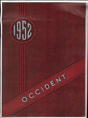 1952 Edition, West High School - Occident Yearbook (Columbus, OH)