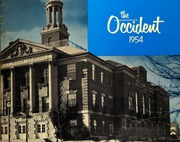 1954 Edition, West High School - Occident Yearbook (Columbus, OH)