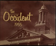 1955 Edition, West High School - Occident Yearbook (Columbus, OH)