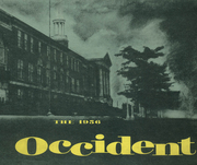 1956 Edition, West High School - Occident Yearbook (Columbus, OH)