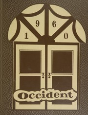1960 Edition, West High School - Occident Yearbook (Columbus, OH)