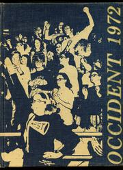 1972 Edition, West High School - Occident Yearbook (Columbus, OH)