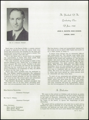 Page 3, 1948 Edition, Buchtel High School - Griffin Yearbook (Akron, OH) online yearbook collection