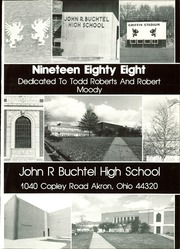 Page 5, 1988 Edition, Buchtel High School - Griffin Yearbook (Akron, OH) online yearbook collection