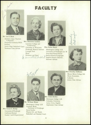 Page 12, 1950 Edition, Peters Township High School - Ember Yearbook (McMurray, PA) online yearbook collection