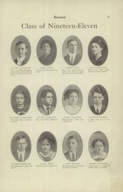 Page 11, 1911 Edition, East Liverpool High School - Keramos Yearbook (East Liverpool, OH) online yearbook collection