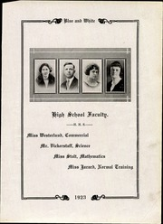 Page 17, 1923 Edition, Hawarden High School - Comet Yearbook (Hawarden, IA) online yearbook collection