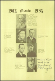 Page 11, 1938 Edition, Pierre High School - Gumbo Yearbook (Pierre, SD) online yearbook collection