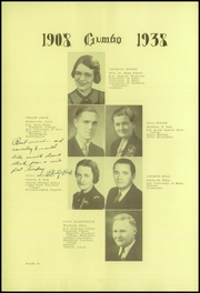 Page 12, 1938 Edition, Pierre High School - Gumbo Yearbook (Pierre, SD) online yearbook collection