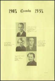 Page 13, 1938 Edition, Pierre High School - Gumbo Yearbook (Pierre, SD) online yearbook collection