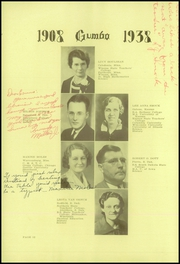 Page 14, 1938 Edition, Pierre High School - Gumbo Yearbook (Pierre, SD) online yearbook collection