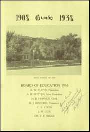 Page 9, 1938 Edition, Pierre High School - Gumbo Yearbook (Pierre, SD) online yearbook collection