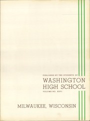Page 9, 1940 Edition, Washington High School - Scroll Yearbook (Milwaukee, WI) online yearbook collection