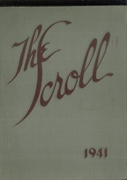 Washington High School - Scroll Yearbook (Milwaukee, WI) online yearbook collection, 1941 Edition, Page 1