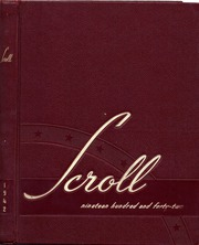 Page 1, 1942 Edition, Washington High School - Scroll Yearbook (Milwaukee, WI) online yearbook collection