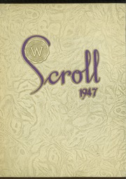 Page 1, 1947 Edition, Washington High School - Scroll Yearbook (Milwaukee, WI) online yearbook collection