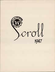 Page 7, 1947 Edition, Washington High School - Scroll Yearbook (Milwaukee, WI) online yearbook collection