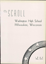 Page 11, 1952 Edition, Washington High School - Scroll Yearbook (Milwaukee, WI) online yearbook collection