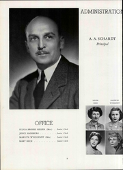 Page 14, 1955 Edition, Washington High School - Scroll Yearbook (Milwaukee, WI) online yearbook collection